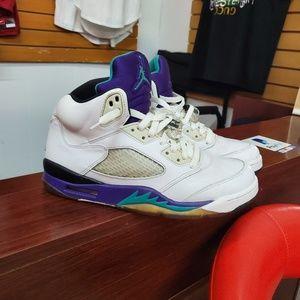 """retro air Jordan V    """"grape"""""""